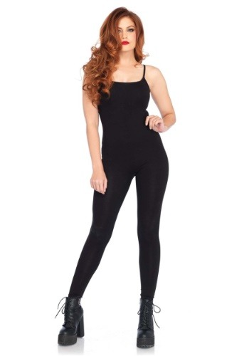 Womens Basic Black Unitard Costume