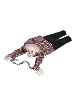 Crawling Skeleton Animated Halloween Decoration