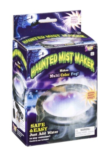 Haunted Cauldron Mist Maker with Lights