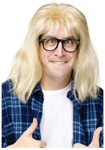 SNL Garth Wig