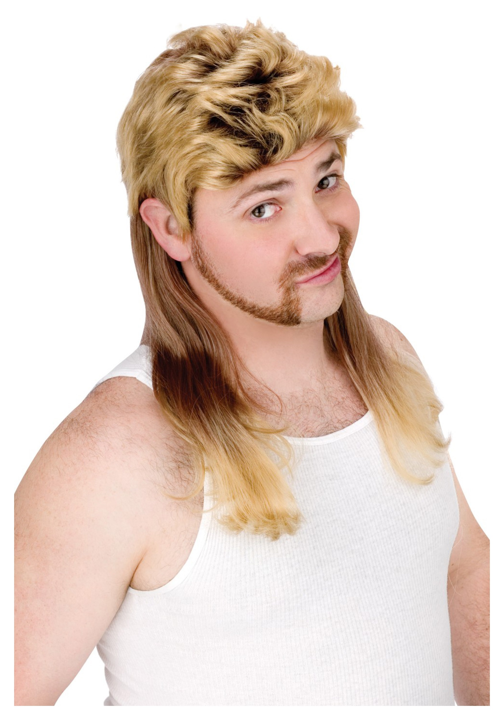 blonde mullet wig - Halloween Costumes With Blonde Wig