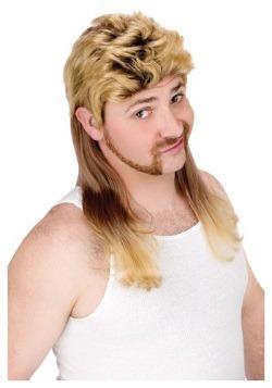 Blonde Mullet Wig