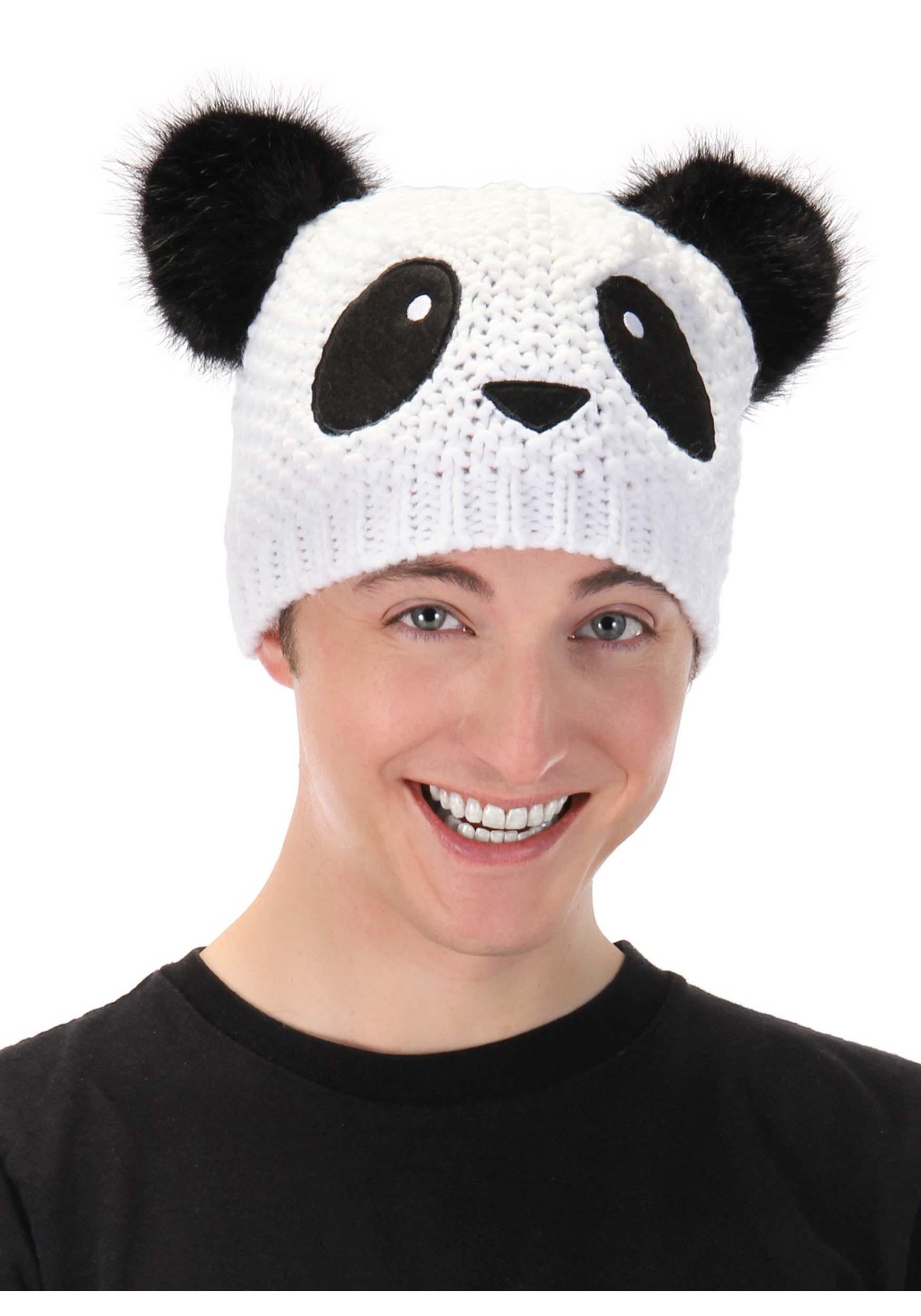 Panda Knit Unisex Beanie 861dc9d0da4