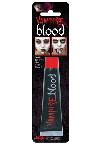 Theatrical Blood By: Fun World for the 2015 Costume season.