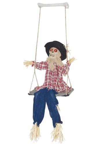 Click Here to buy Swinging Evil Scarecrow from HalloweenCostumes, CDN Funds