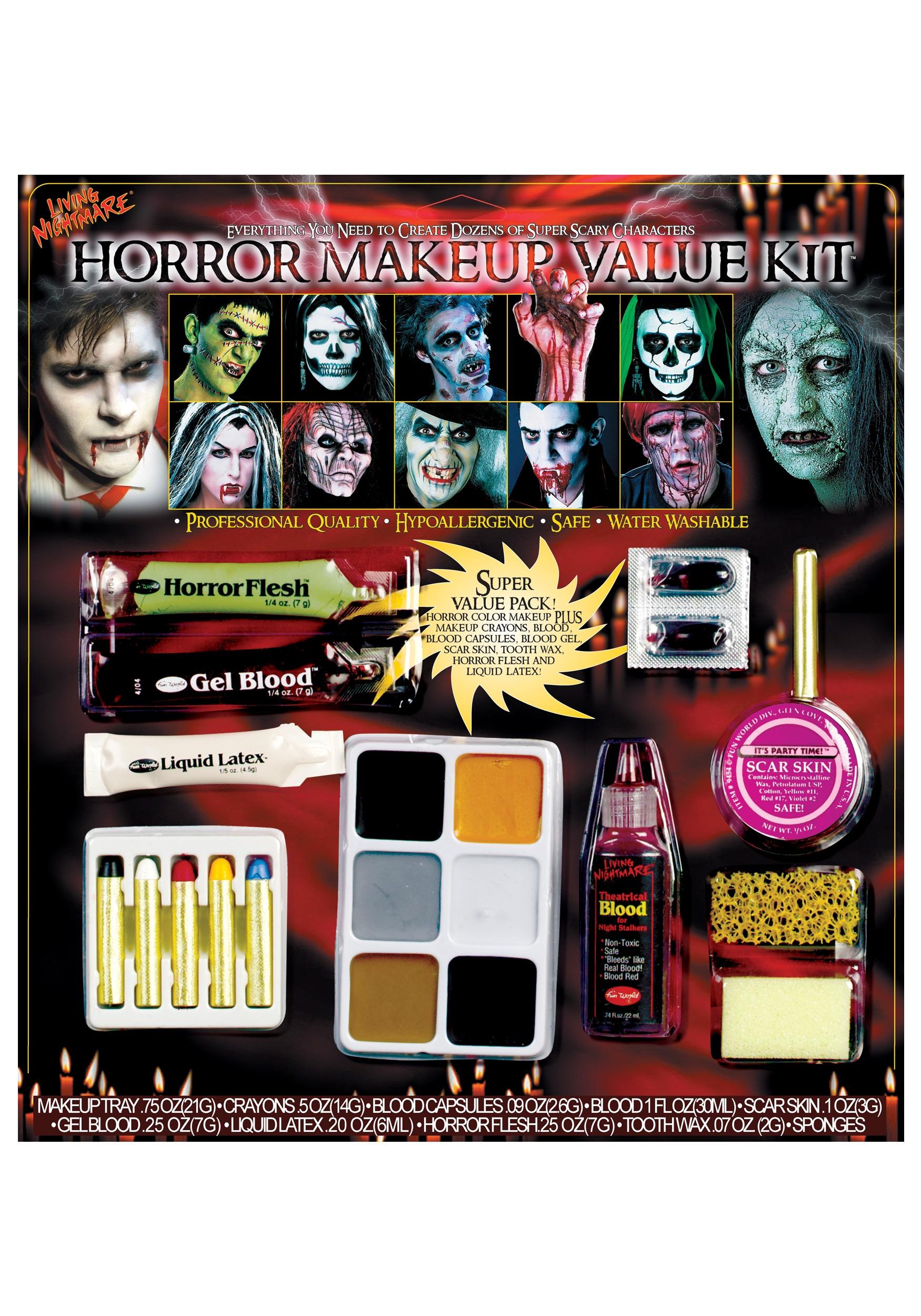 Horror Makeup Value Kit