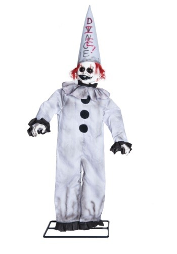 Click Here to buy Animated Dunce Clown Decoration from HalloweenCostumes, CDN Funds