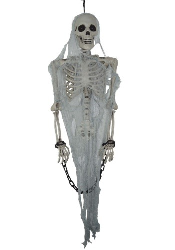 Animated Talking Skeleton Decoration