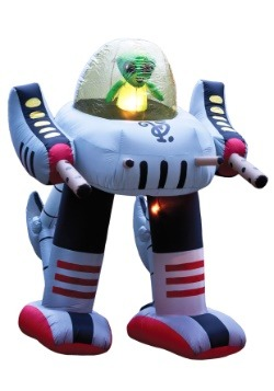 Inflatable Alien Robot Decoration1