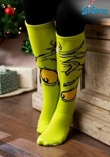 The Grinch Knee High Sock Update