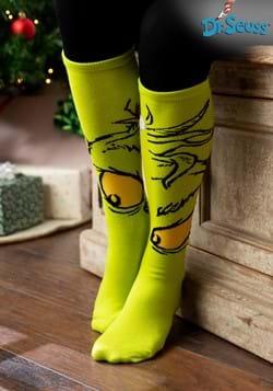 The Grinch Knee High Sock