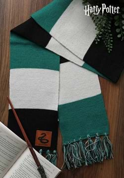 Slytherin Patch Striped Scarf