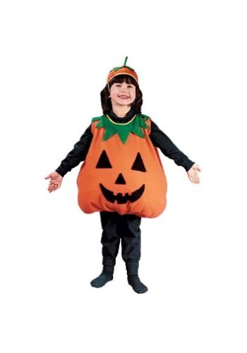 Child Pumpkin Costume – Size: S – Polyester