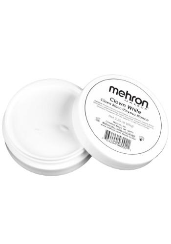 Mehron Clown White 2.25 Oz Premium Quality Makeup – Size: ST – Cream Make-up