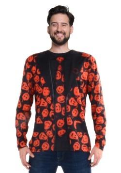 SNL David S Pumpkins Long Sleeve Suit Costume Tee