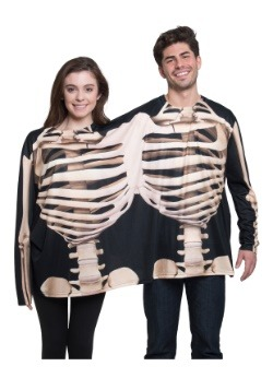 Skeleton 2 Person Long Sleeve Tee