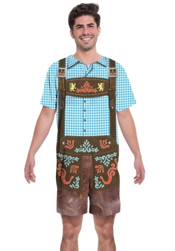 Oktoberfest Romper 2 Person Costume1