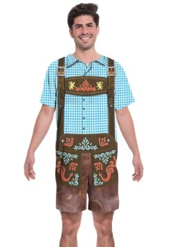 Oktoberfest Romper 2 Person Costume1