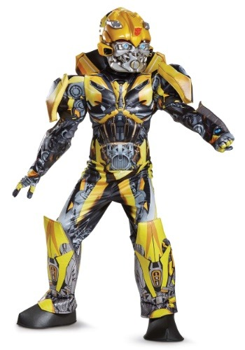 Click Here to buy Boys Transformers 5 Bumblebee Prestige Costume from HalloweenCostumes, USA Funds & Shipping