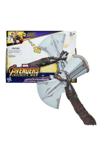 Click Here to buy Avengers: Infinity War Marvel's Stormbreaker Electronic Axe from HalloweenCostumes, CDN Funds