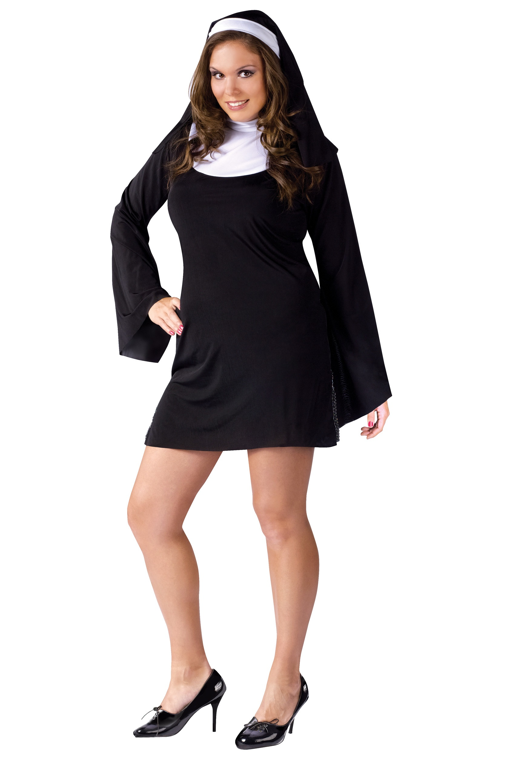 plus size naughty nun costume - Naughty Girl Halloween Costumes