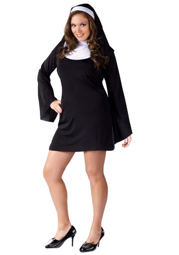 Plus Size Naughty Nun Costume By: Fun World for the 2015 Costume season.