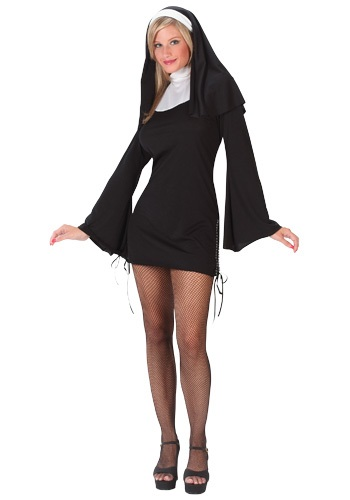Click Here to buy Naughty Nun Costume from HalloweenCostumes, CDN Funds
