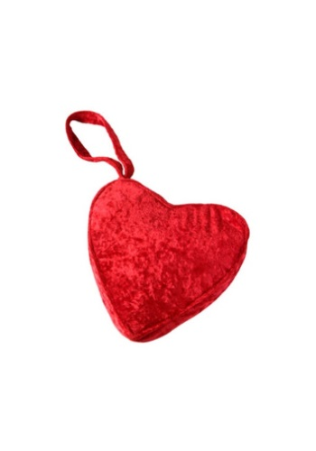 You'll have plenty of heart once you've paired this Heart Purse with a Tin Girl Costume. You'll also have a clever place to stow your lip gloss. #purse