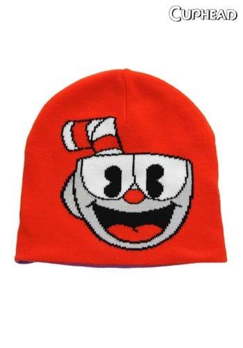 Reversible Cuphead Knit Hat Main