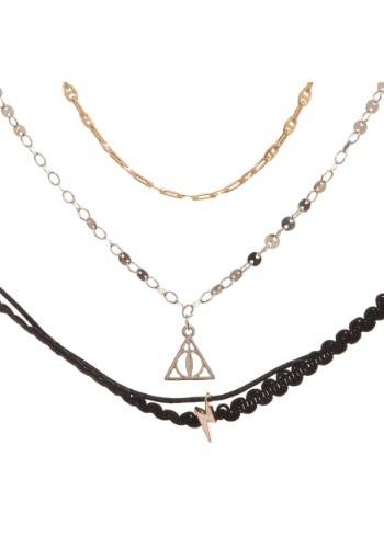 Harry Potter 3 Pack Choker Necklace Set