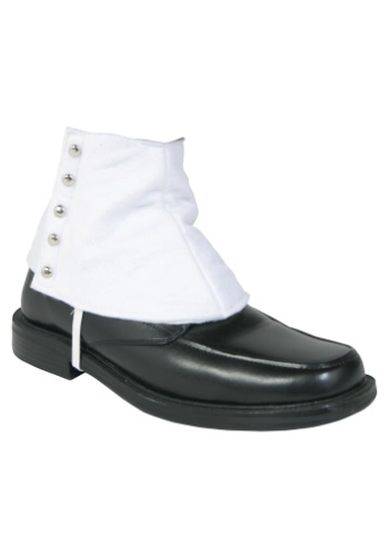 Click Here to buy Gangster Shoe Spats from HalloweenCostumes, CDN Funds