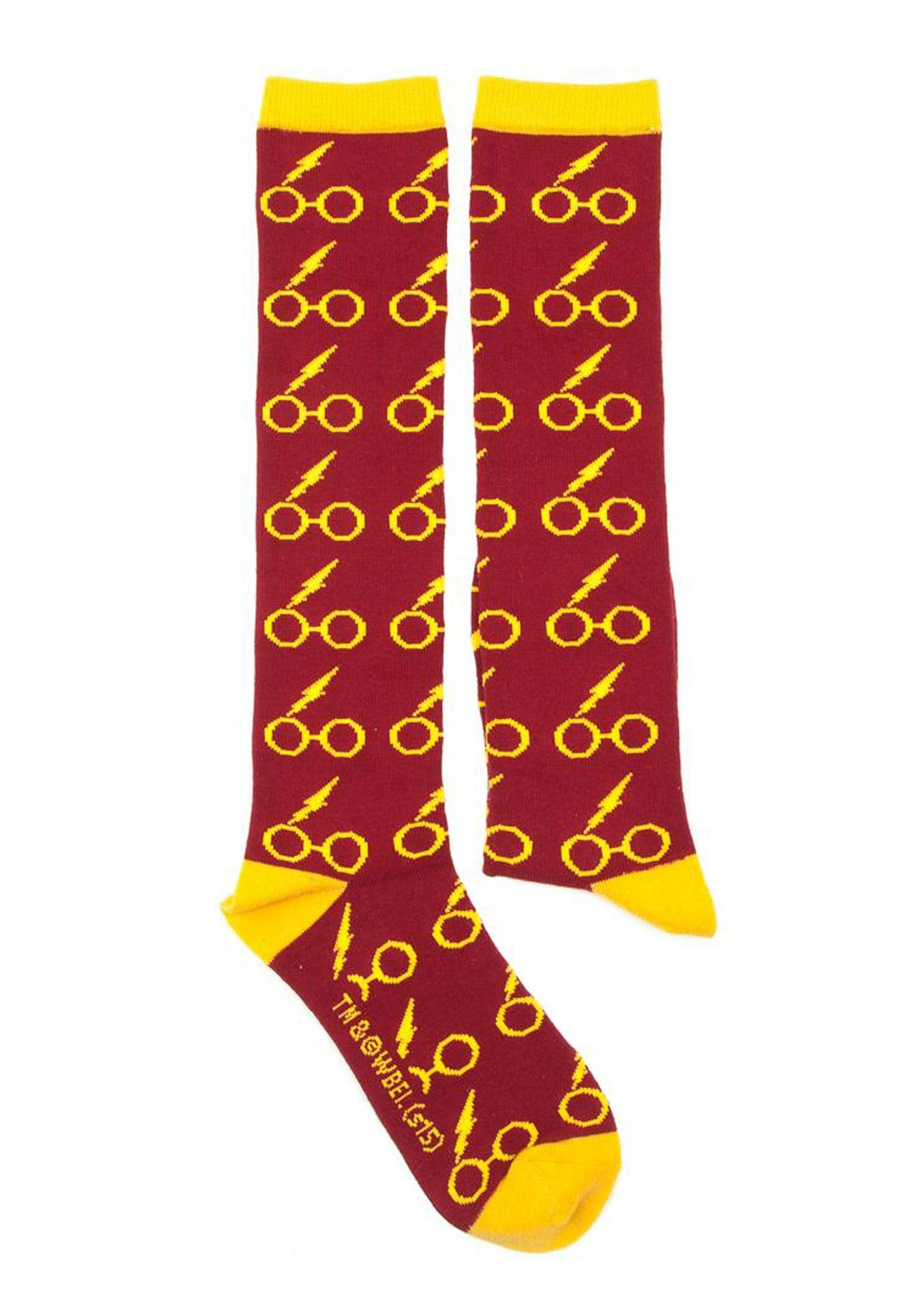 43531e772 Harry Potter Glasses Knee High Socks Harry Potter Glasses Knee High Socks 2
