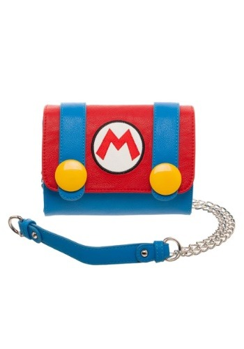 Click Here to buy Nintendo Mario Sidekick Cross Body Bag from HalloweenCostumes, CDN Funds