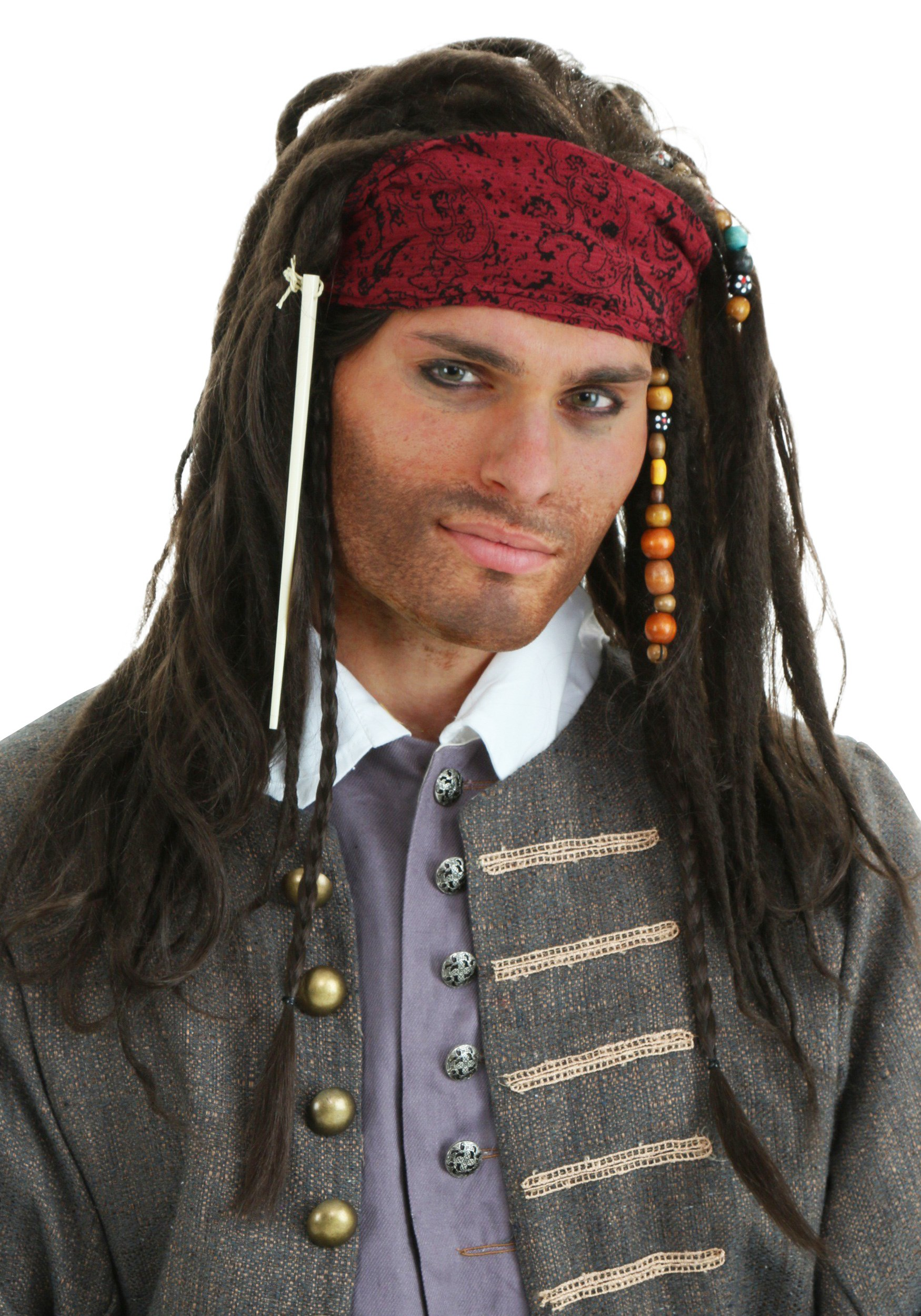 ... Pirate wig is a perfect complement to your Jack Sparrow costume!