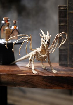 "7"" Dragon Skeleton Halloween Decoration Update 1"