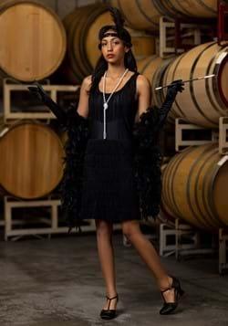 Black Fringe 1920's Flapper Costume Update1