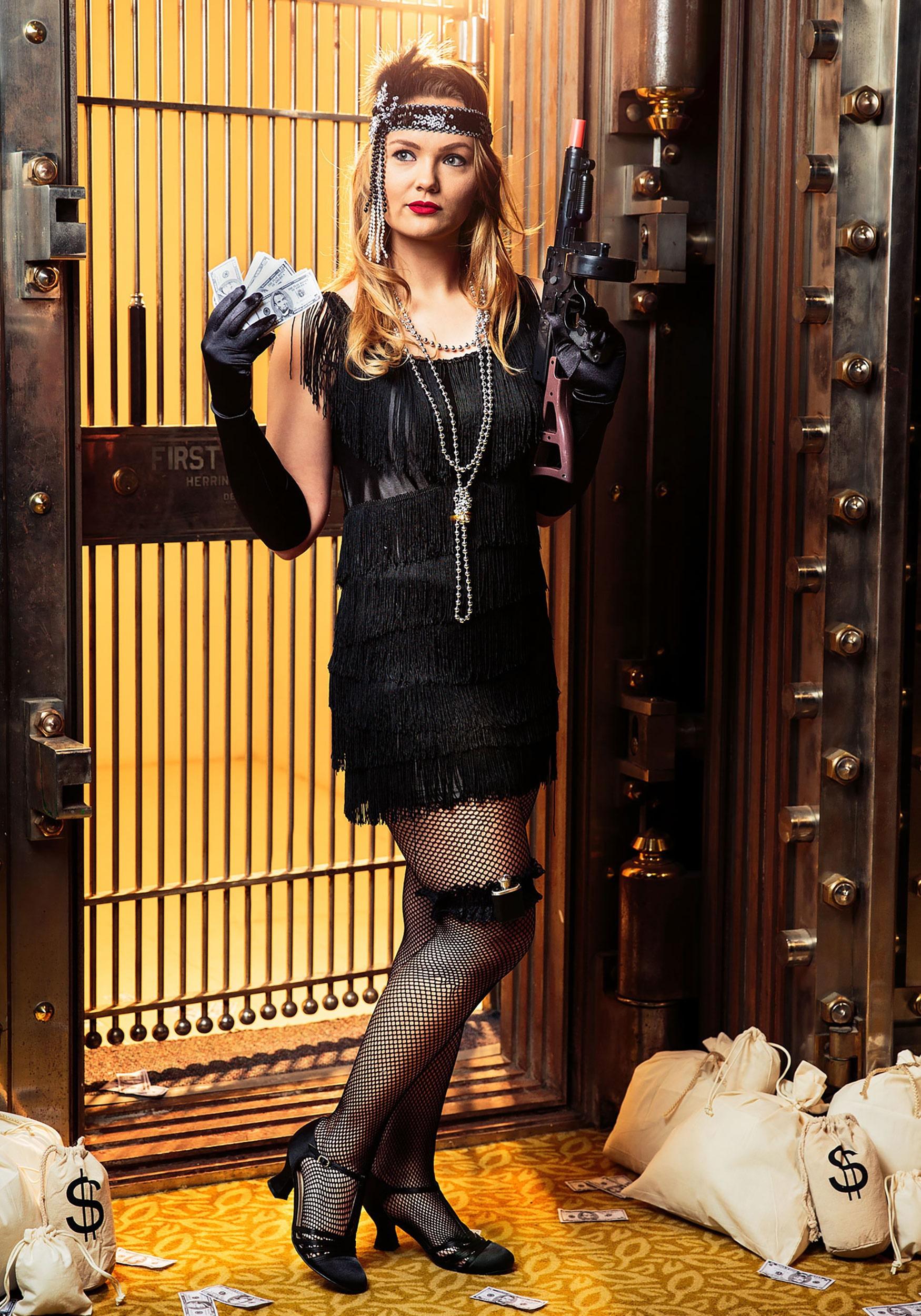 Black Fringe 1920 S Flapper Costume