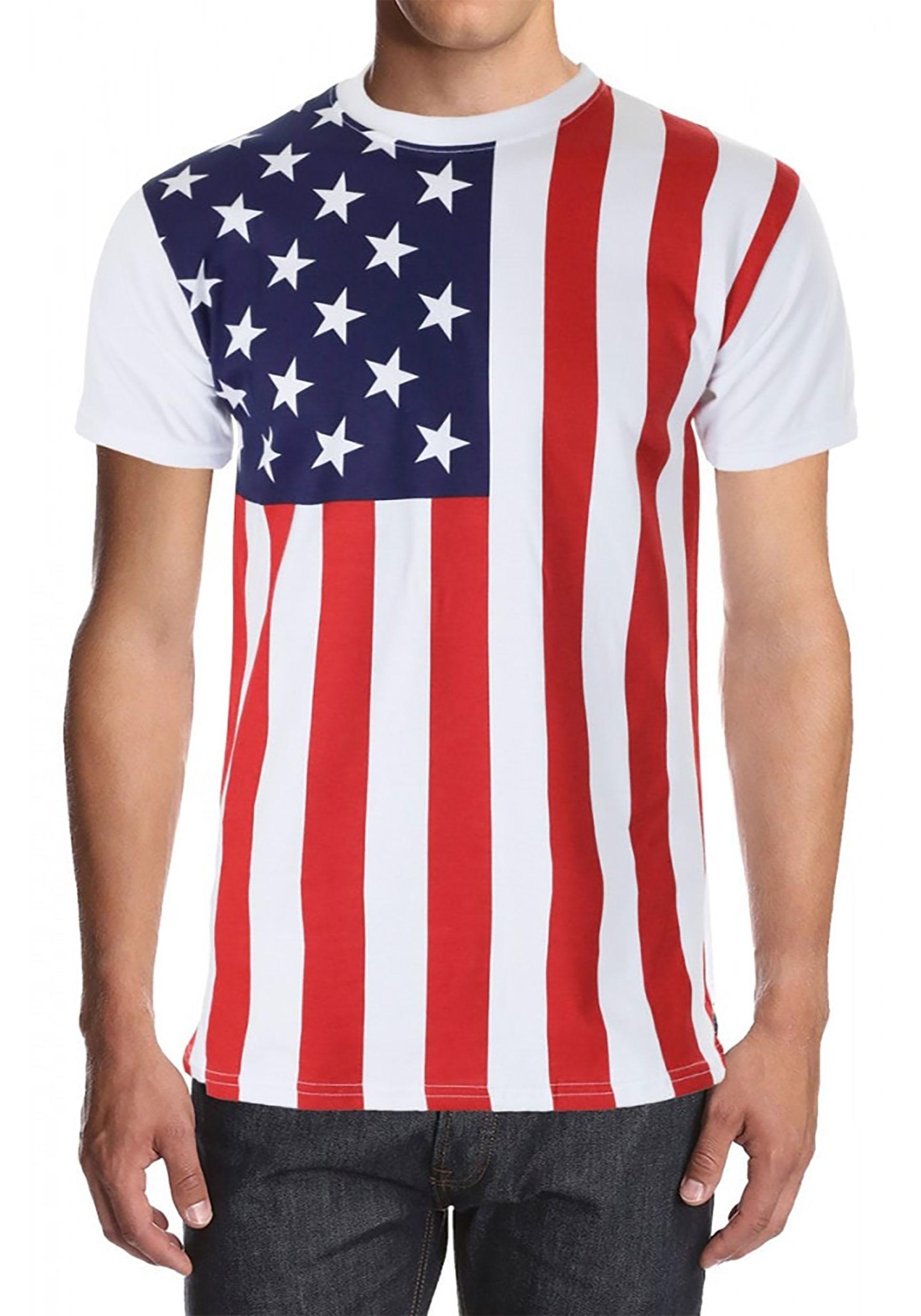 American Flag Shirt For Men
