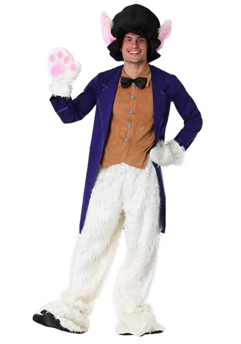 White Rabbit Costume for Adults