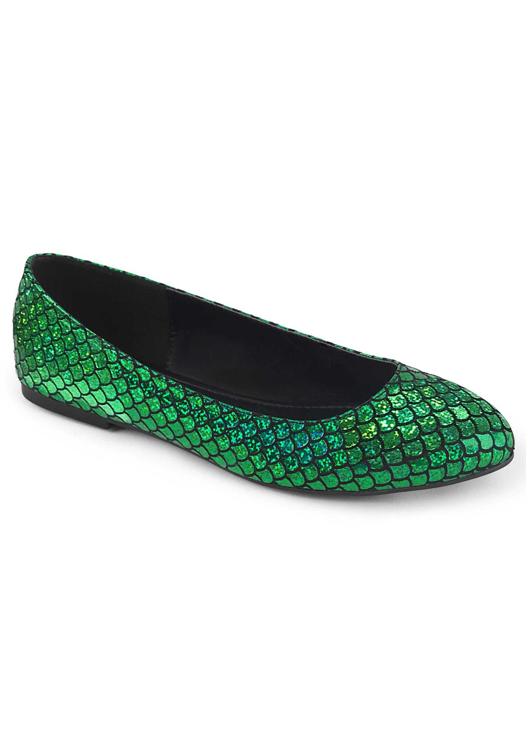 Women\u0027s Green Mermaid Shoes