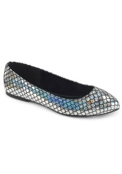 Women's Silver Mermaid Shoes1