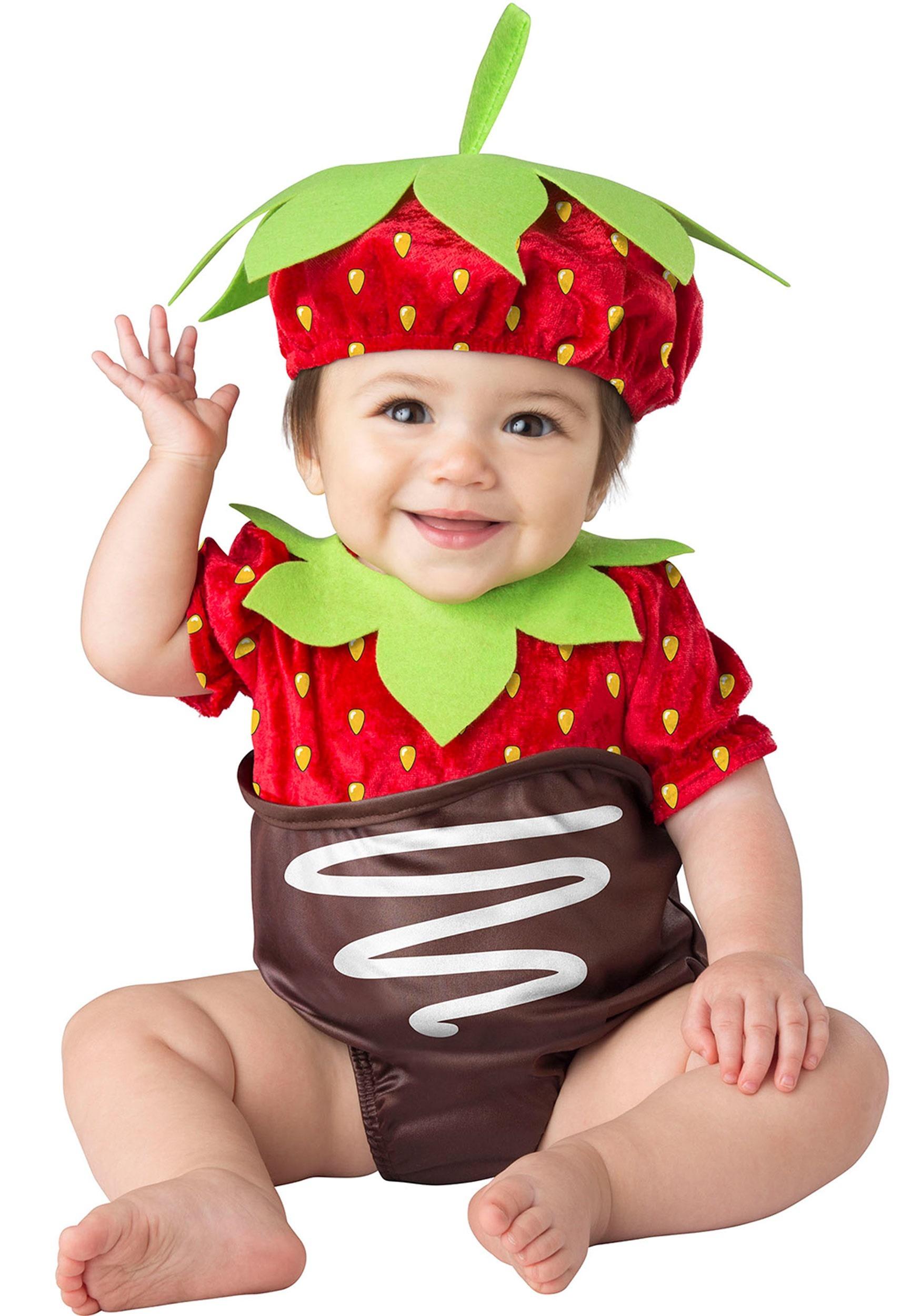 d3f207e8b Chocolate Strawberry Costume for a Child