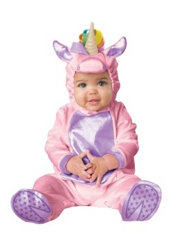 Infant Pink Unicorn Costume1