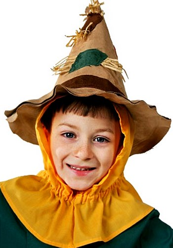 Child Scarecrow Hat New Main