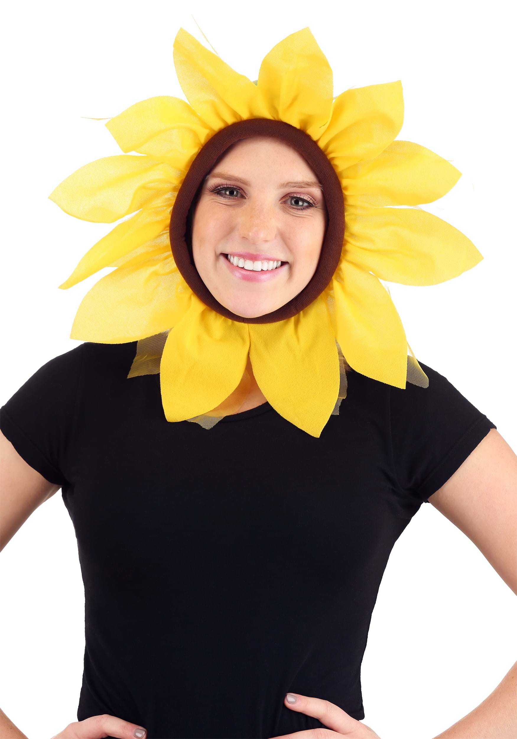 Child Sunflower Hood  sc 1 st  Halloween Costumes : baby sunflower costume  - Germanpascual.Com