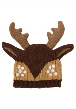 Deer Knit Stocking Cap