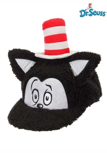 Dr. Seuss Cat in the Hat Fuzzy Cap for an Adult