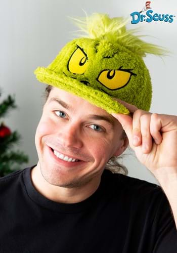 Dr. Seuss Grinch Fuzzy Cap