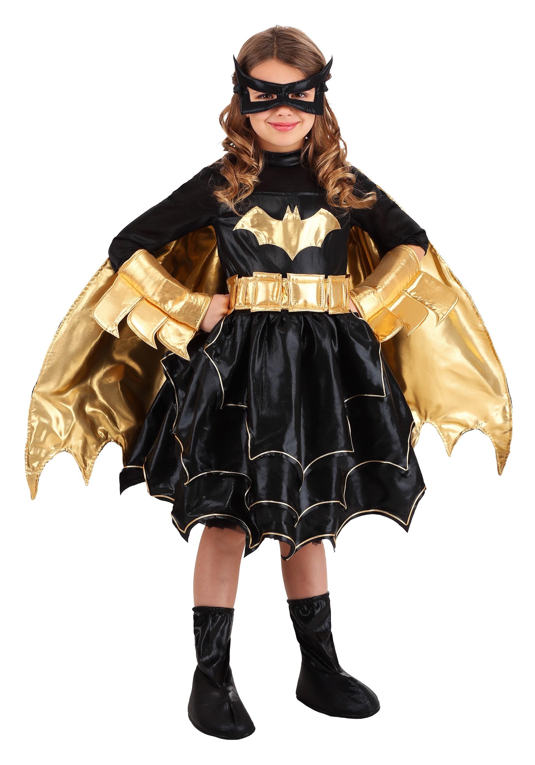 Deluxe DC Comics Batgirl Costume for GirlsBatgirl Costumes