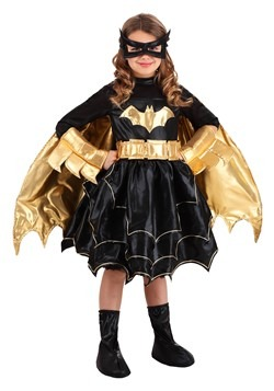 Deluxe DC Comics Batgirl Girl's Costume Update Main 2